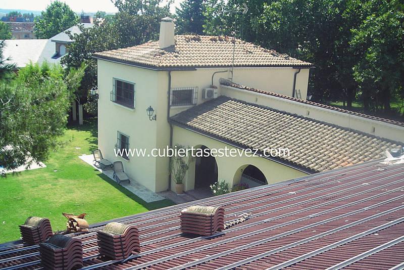 01 Colonia Camarines_rehabilitacion de tejado